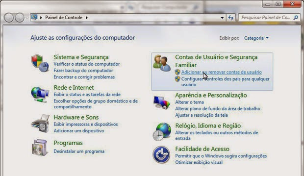 Windows 7 como excluir conta de convidados
