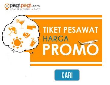 Beli Promo Tiket Pesawat di Pegipegi