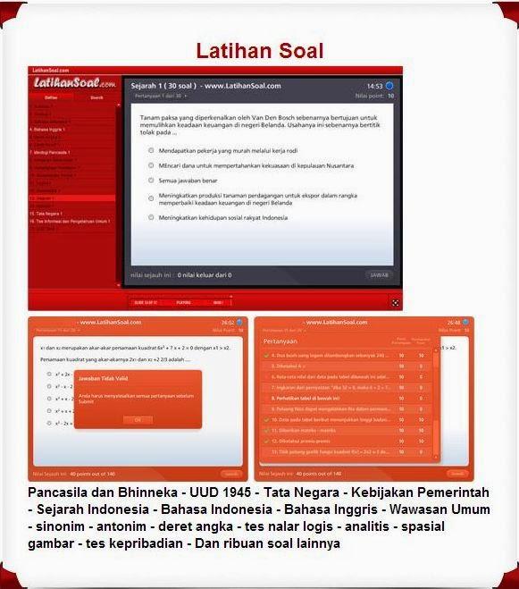 Download Software Dan Aplikasi Latihan Computer Assisted Test Cat Cpns 2014 Mcn Blog