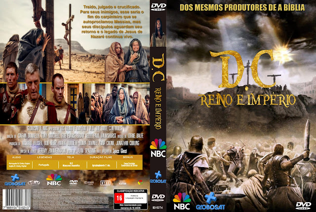 Capa DVD DC Reino E Império