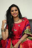 Manasa in Pink Salwar At Fashion Designer Son of Ladies Tailor Press Meet Pics ~  Exclusive 19.JPG