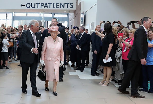 Queen Elizabeth II and Prince Philip, Duke of Edinburgh visit Liverpool