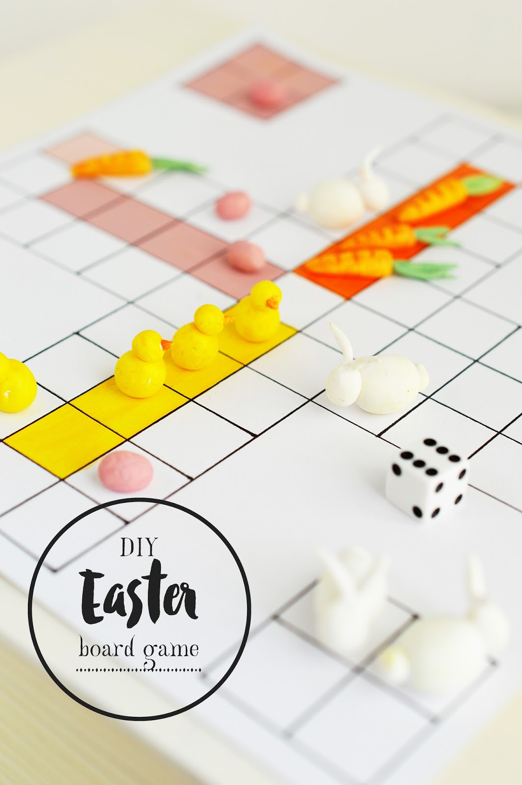 Bunny, don't you worry! | DIY EASTER BOARD GAME