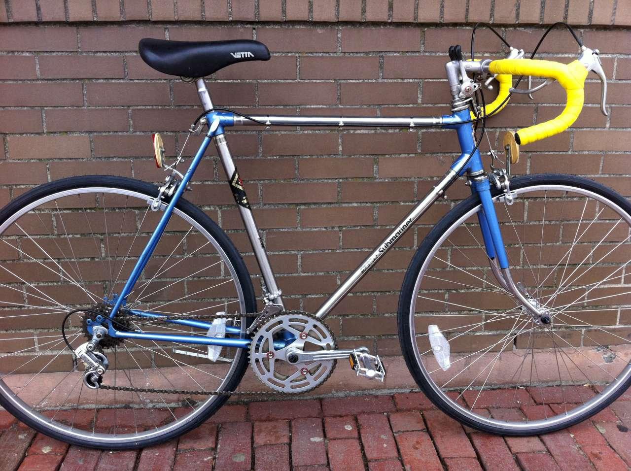 Bridgestone Near Me >> Bike Boom refurbished bikes: Bridgestone Kabuki Submariner Road bike