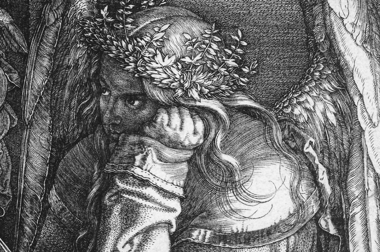 Melancolía, de Alberto Durero - Caen estrellas fugaces