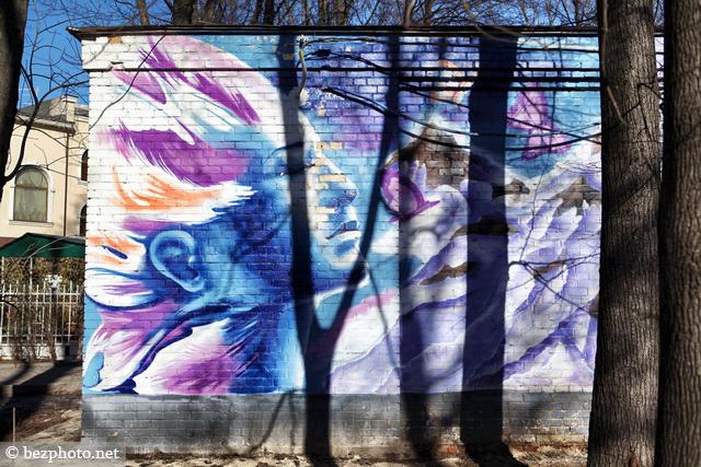 красивые граффити в москве