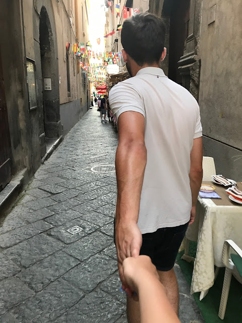 Sorrento things to do, street walks