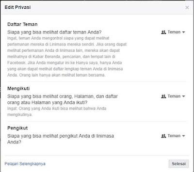 lindungi privasi di facebook