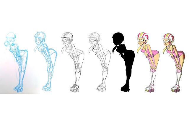 Character Design Challenge Rules : Giulia bellunato character design