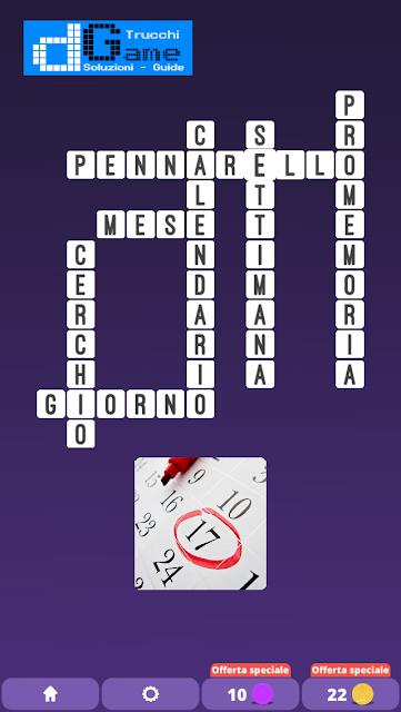 Soluzioni One Clue Crossword livello 8 schemi 9 (Cruciverba illustrato)  | Parole e foto