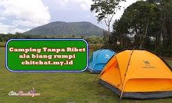 Asyik Camping Seadanya