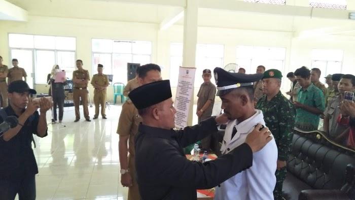 "Plt.Nanang Ermanto Lantik (PAW) Kades Seloretno Kec.Sidomolyo Lamsel""Jangan Bermain-Main Dengan Dana Desa"""
