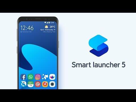 افضل لانشر 2019 شكل جميل وجاهز بدون تعديل smart lancher 5