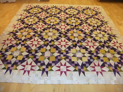 En Provence Mystery Quilt 2016 finished