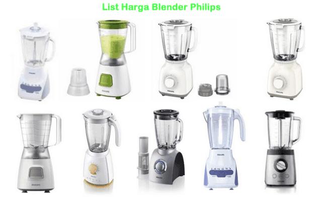List Harga Blender Philips Cosmos Miyako Maspion Terbaru