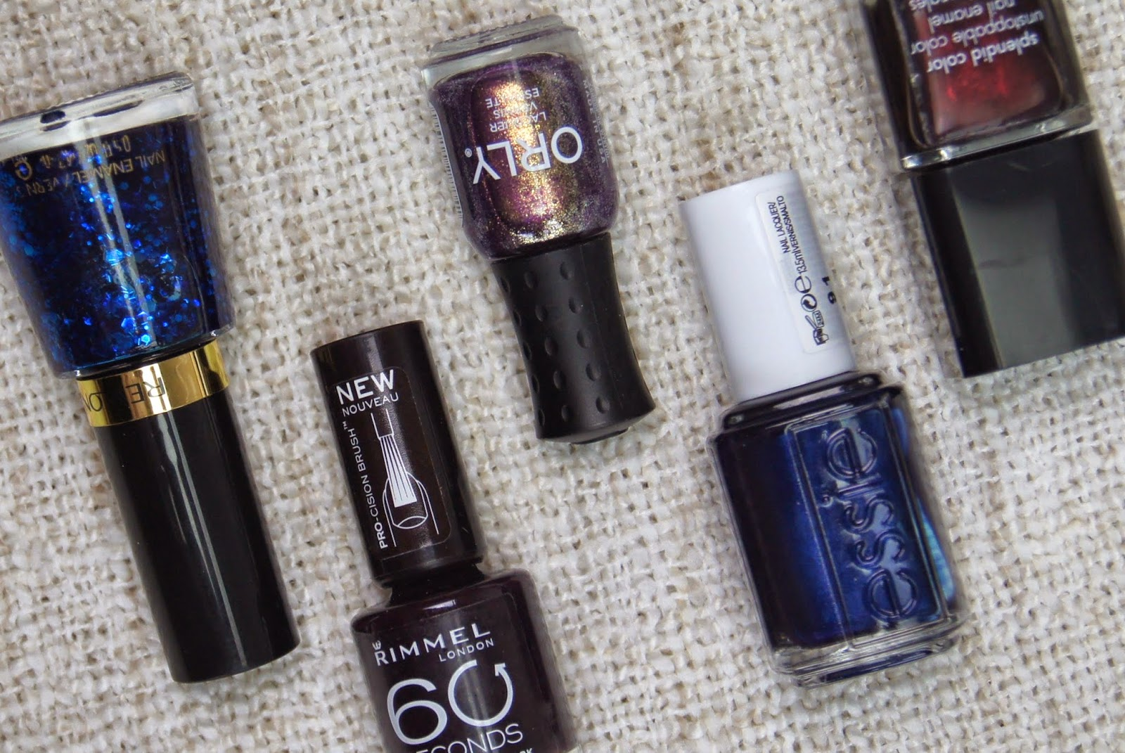 top 5 autumn nail polish shades