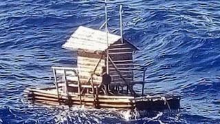 Επιβίωσε επί 49 μέρες σε ξύλινη καλύβα καταμεσής του Ειρηνικού ωκεανού (vid)