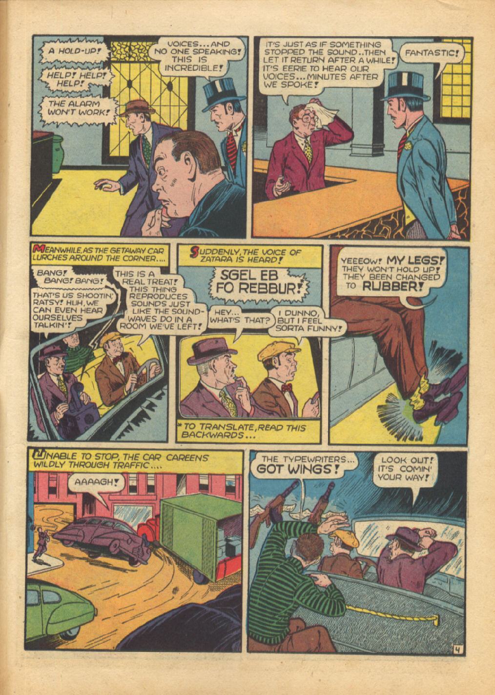 Read online Action Comics (1938) comic -  Issue #64 - 52