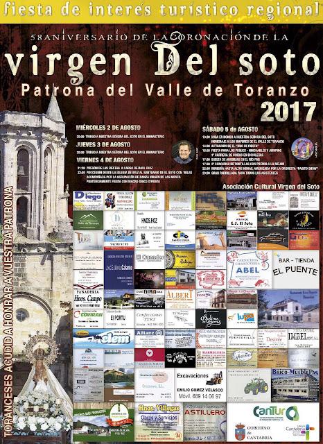 Fiestas de la Virgen del Soto en el Valle de Toranzo 2017