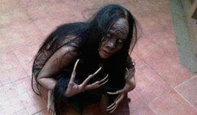 Gambar Hantu Leak Bali
