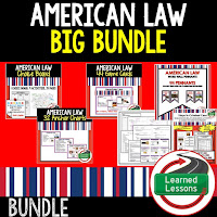 American Law, Civics Mega Bundle, Government Mega Bundle, Civics and Government Curriculum, Anchor Charts, Games, Digital Interactive Notebook, Google Classroom, Word Wall, Choice Boards, Guided Notes, PowerPoints, Test Prep, Document Based Questions