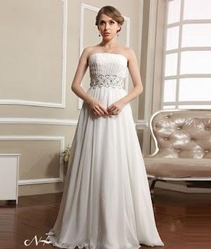 Model Gaun Pengantin Simple dan Elegan Serta Modern