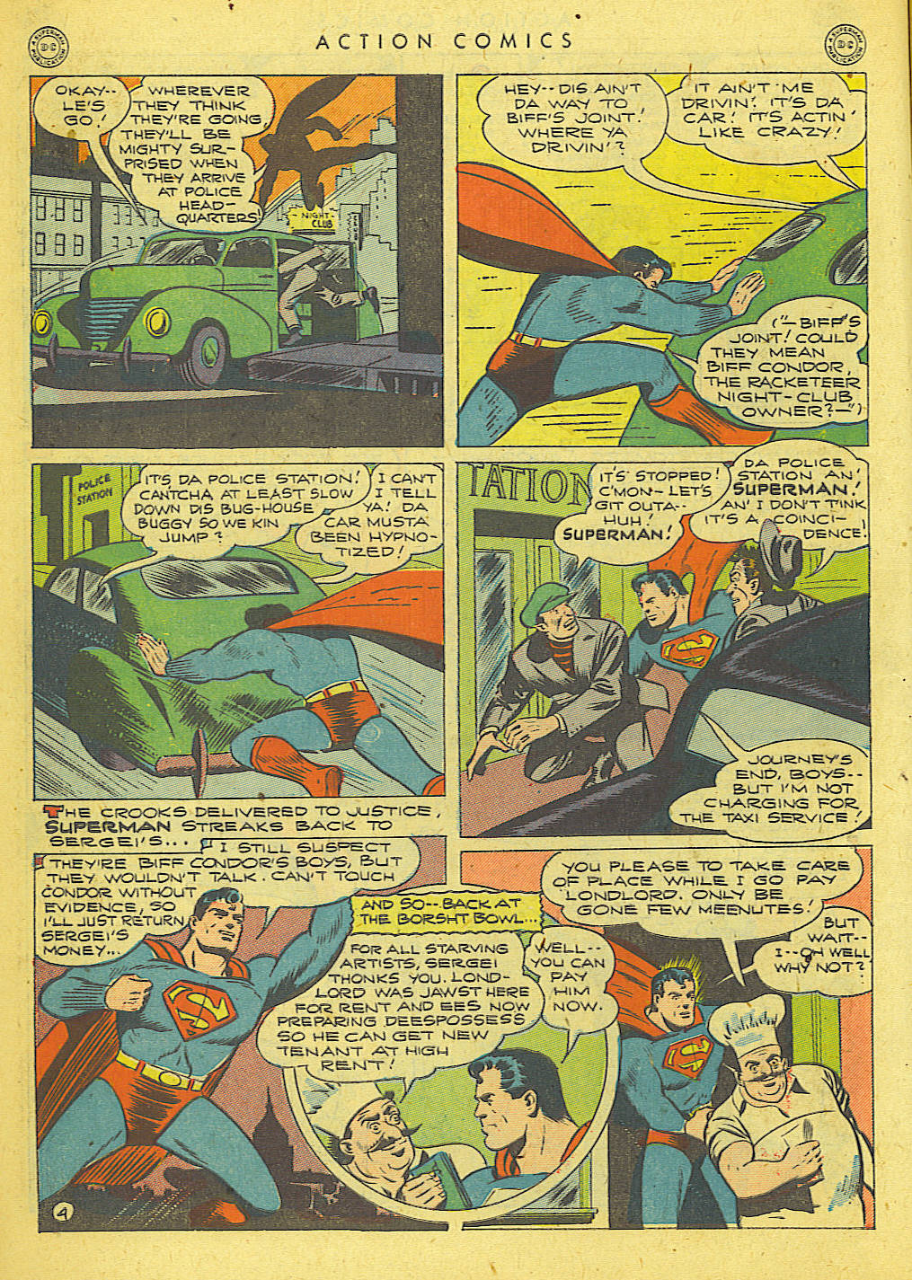 Read online Action Comics (1938) comic -  Issue #78 - 5