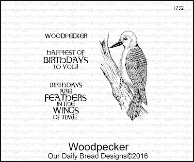 Our Daily Bread Designs Stamp Set: Woodpecker