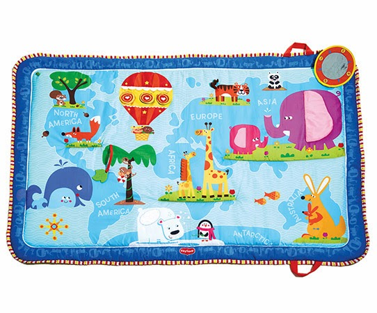 Tiny Love Discover the World play Mat #Giveaway