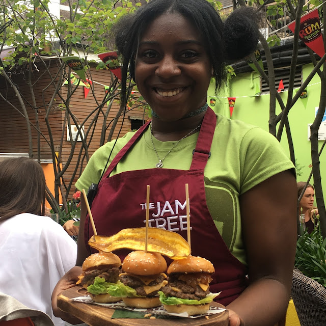 sliders at The Jam Tree Clapham Old Town #JamTreeRumFest