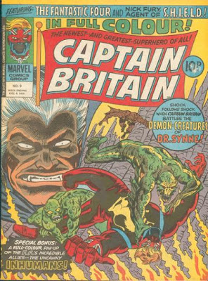 Marvel UK, Captain Britain #9, Dr Synne