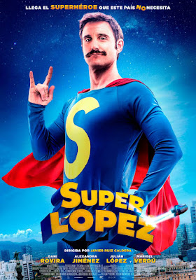 SUPERLÓPEZ - Cartel de la película