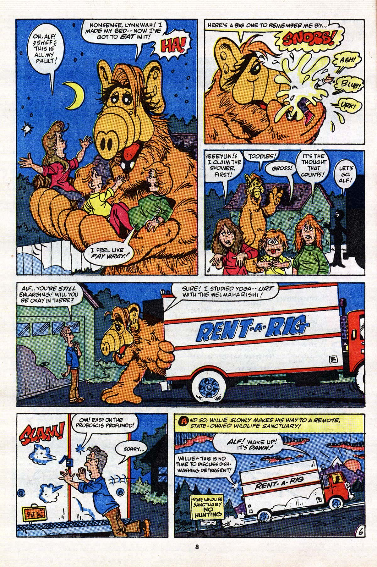 Read online ALF comic -  Issue #18 - 7