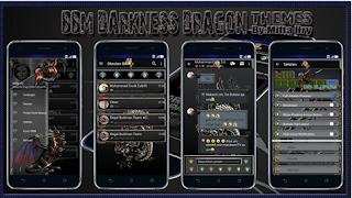 BBM Darkness Dragon V3.2.0.6 Apk Terbaru