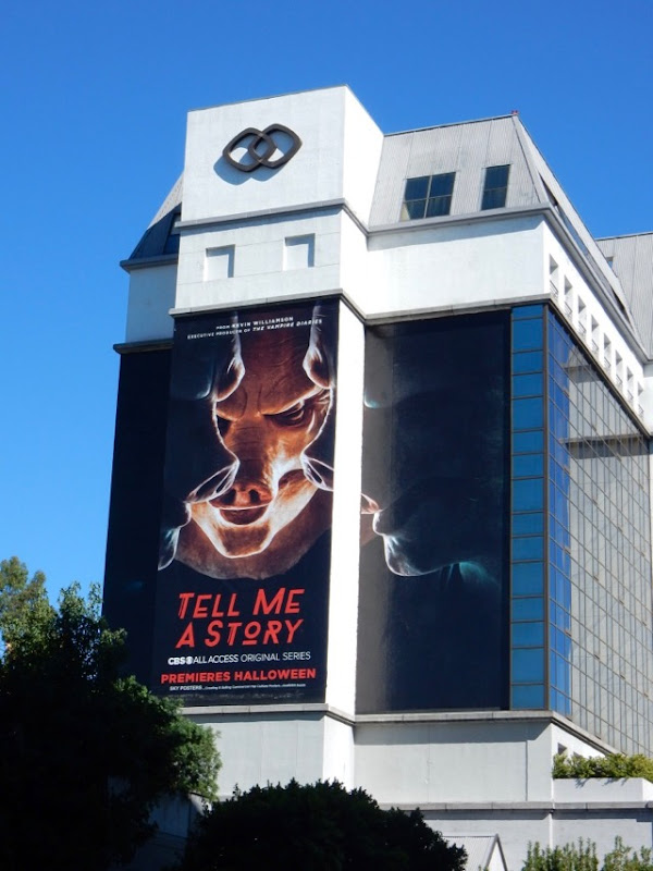 Tell Me A Story series launch billboard