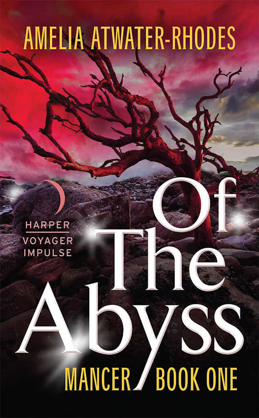 2016 Debut Author Challenge Update - Of the Abyss by Amelia Atwater-Rhodes