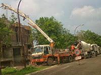 Sewa Pompa Beton Standar | Concrete Pump