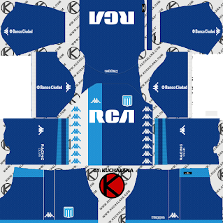 Racing Club 2018 Kit - Dream League Soccer Kits