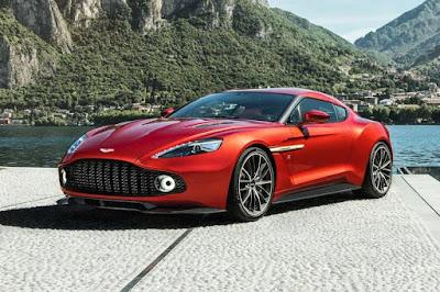 Aston Martin Vanquish Zagato Concept (2016) Front Side