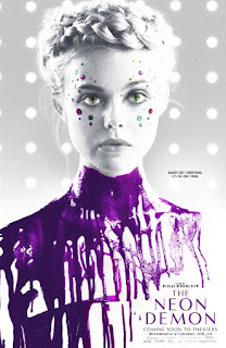 The Neon Demon (2016) Movie Review : A neon lit parable of big city poison.