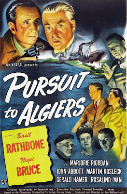 Pursuit to Algiers Poster