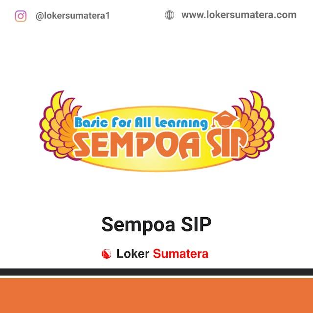 Lowongan Kerja Bengkulu, Sempoa SIP Juni 2021