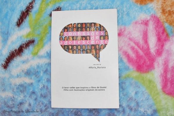 Resenha, livro, Confissões-de-adolescente, Maria-Mariana, opiniao, fotos, trechos, edição-econômica, avon