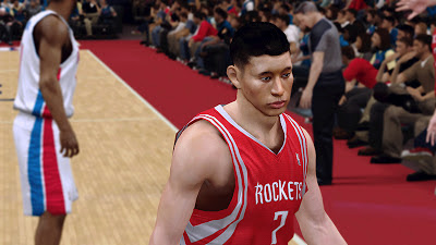 NBA 2K13 Jeremy Lin Cyberface Patch