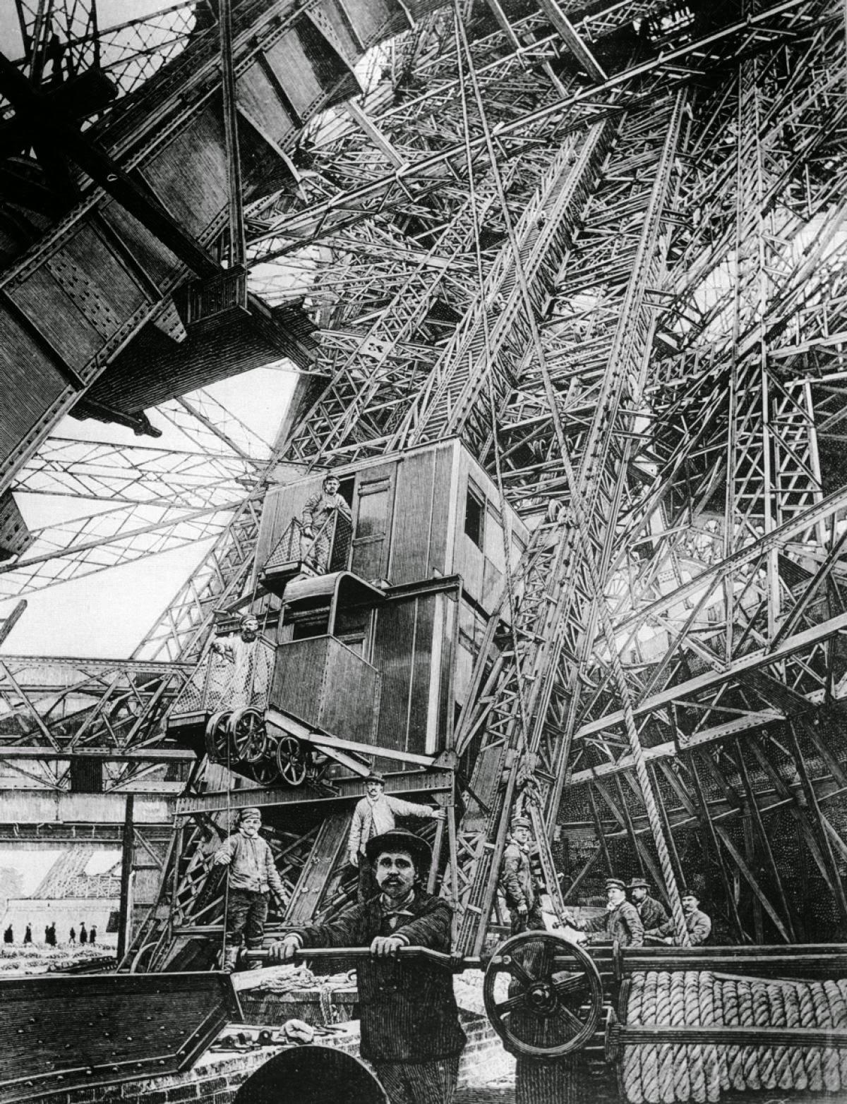 Ιστορικά ντοκουμέντα: Έτσι χτίστηκε ο θρυλικός Πύργος του Άιφελ! (Σπάνιες φωτογραφίες)