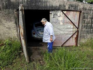 Căn nhà kho cũ nát của tổng thống Uruguay Jose Mujica