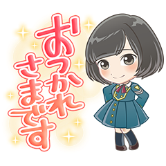 Keyakizaka46 Cartoon Style Stickers
