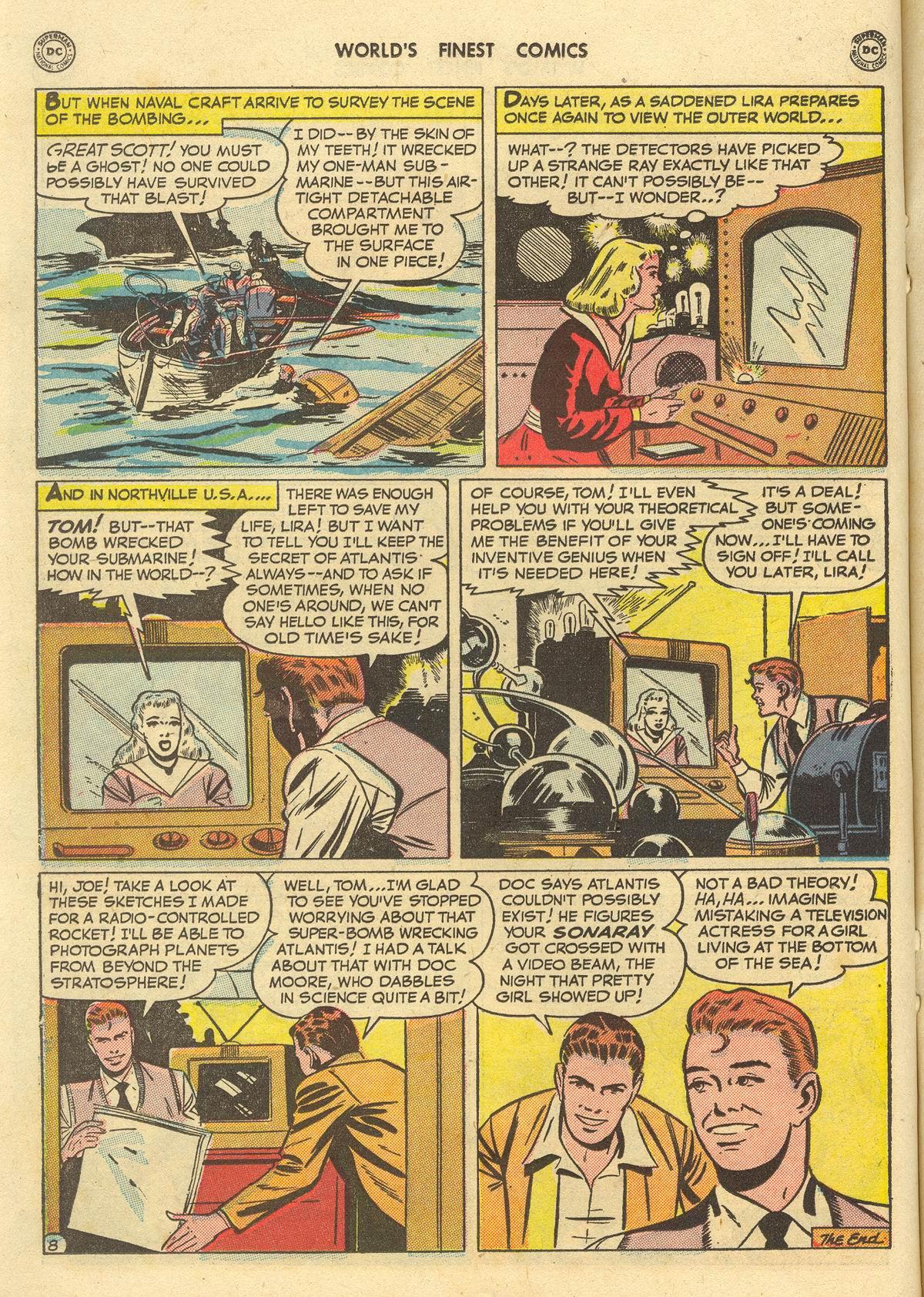 Read online World's Finest Comics comic -  Issue #51 - 36