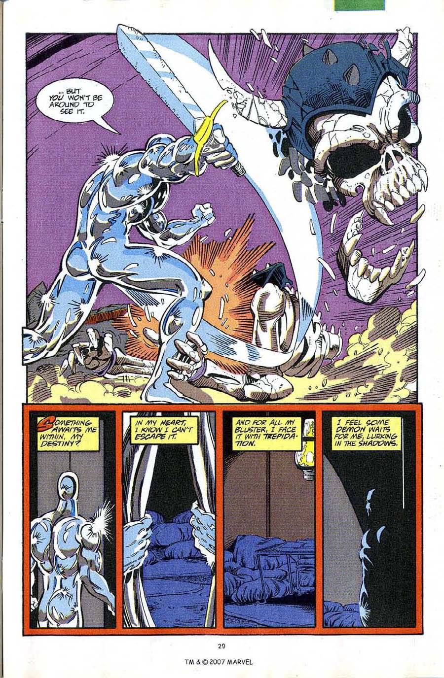 Read online Silver Surfer (1987) comic -  Issue #63 - 31