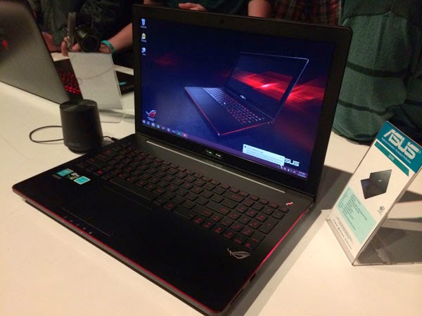 ASUS ROG G550JK, Notebook Gaming Bertenaga dan Fashionable